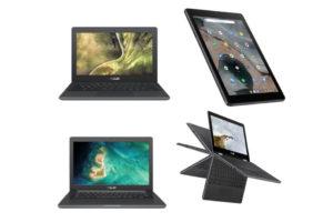 Asus Chromebook New Models C204, C403 & Flip C214